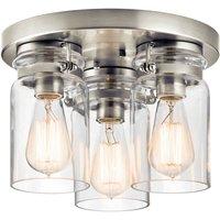 Ceiling lamp Brinley three bulb