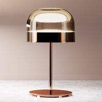 Equatore   LED table lamp in copper  42 5 cm