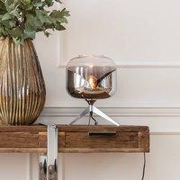 KARE Chrome Goblet Ball table lamp