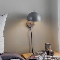 Sch ner Wohnen Kia wall light grey  tiltable
