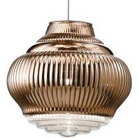 Bonnie pendant lamp 130 cm metallic bronze
