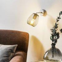 Casablanca Bagan   movable wall lamp  graphite