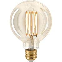 LED bulb E27 G95 4 5 W filament globe gold