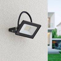 Lindby Aine LED outdoor spotlight black 7 7 cm