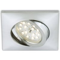 Rectangular LED recessed light Erik  aluminium