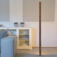 HerzBlut Leonora LED floor lamp 161 cm walnut