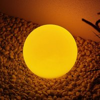Lindby Yohan RGB-LED-Solarleuchte, 25 cm