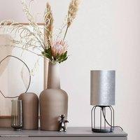 Sch ner Wohnen Grace table lamp silver