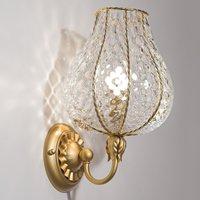 Enchanting Odalisca wall light