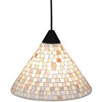 Lámpara colgante Yara con pantalla de mosaico