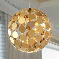 Sfera hanging light    50 cm  gold finish