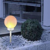 LED-Solarleuchte 3375F mit Erdspieß, Höhe 43 cm