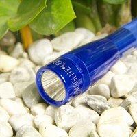 Blue LED torch Mini Maglite