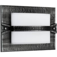 Country style  llin outdoor wall light  black