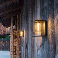 IP44 de Dia LED outdoor wall light  deep black