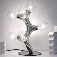 next DNA Table   designer table lamp  chrome