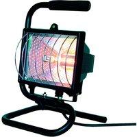 Elro halogen construction floodlight with handle