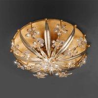 Mirella ornate crystal ceiling light