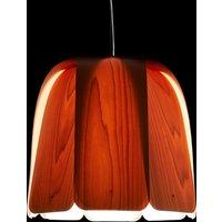 LZF Domo hanging light natural beech