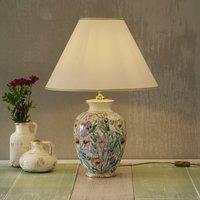 KOLARZ Giardino Panse   floral table lamp  40 cm