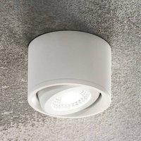 Pivotable head   Anzio LED downlight  white