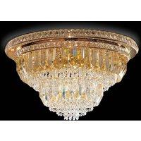 Cristalli ceiling light  60 cm in gold