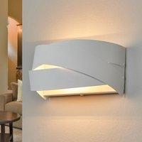 Tornado   snow white wall light