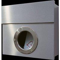 Letterman I designer letterbox stainless steel