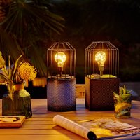 897611 LED table lamp with solar module