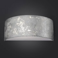 Alea LED wall light with silver leaf  dimmable