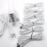 Image of 6fach-USB-Ladegerät für LED-Außendekoleuchte Patio
