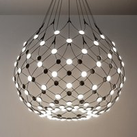 Luceplan Mesh hanging light   80 cm wireless 3 m