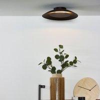 Foskal LED ceiling light  black    34 5 cm