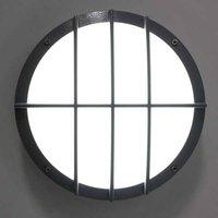 SUN 8 LED aluminium wall light  13 W 3000 K sensor