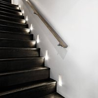 Filippide LED recessed wall light