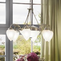 Impery - pendant light in classic style, 8-bulb