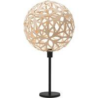 david trubridge Floral buffet lamp natural