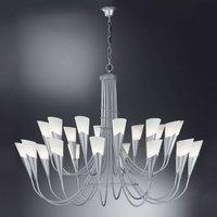 24 bulb silver chandelier CAMPAGNOLA