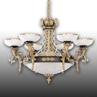 Suntuosa lámpara de araña Tudor