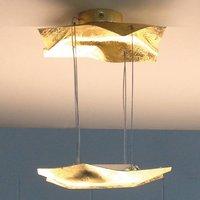 Knikerboker Piccola Crash gold leaf hanging light