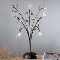 Florentine table lamp Millefoglie  five bulb