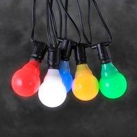 Image of 24V-System Biergartenkette LED E10 multicolour