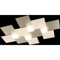 GROSSMANN Creo ceiling 4 bulb 55x38 5 champagne