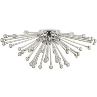 Pauline ceiling light  glass droplets  5 bulb