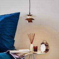 Picasso LED pendant light 1 bulb 18 cm brown oxide