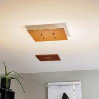Escale Zen   rust coloured LED ceiling lamp