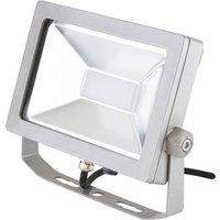EVN LFA outdoor spotlight silver plug 5 700 K 30 W