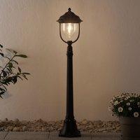 Romantische padlamp PARMA, zwart