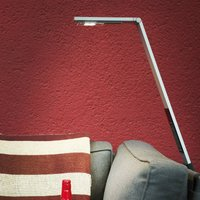 Flex LED floor lamp wireless  battery aluminium
