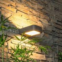 Modern Juna LED wall light for outdoors